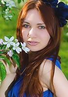 Charming teen outdoor