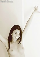 Alexa Model shows off her sweet nipples