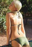 Alison Angel takes off her sweet bikini
