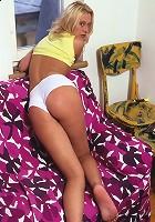 Girl and her underwear