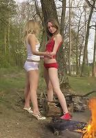 Sweet nude girls